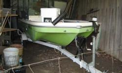 $2,500 1975 Dale 14' Tri-Hull FiBo - Glass Boat (Lookout Mtn