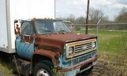 $2,500 1988 Chevy C60 Box Truck-Needs Painted