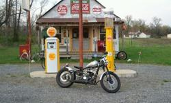 $2,500 2010 bobber motorcycle