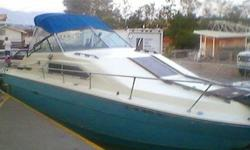 $2,500 27' TWIN-Cabin Sea Ray 260 Sundancer w/Trailer