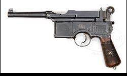 $2,500 Very Rare Mauser C96 6-Shot Fixed Sight with