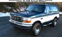 $2,549 1995 LIKE NEW Ford Bronco XLT 100% Rust Free! 100%
