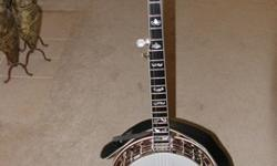 $2,575 Delux Flat Top Banjo Tennessee Crafters Flathead