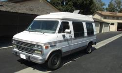 $2,670 OBO 1992 Chevy Van Conversion to RV