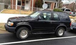 $2,800 1999 Ford Explorer Sport, great mileage, great car