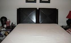 $2,800 Tempur-Pedic Mattress (Queen) with Panel Bed &