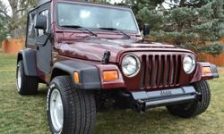 $2,860 Well Maintained 2001 Jeep Wrangler