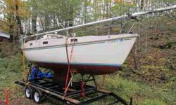 $2,890 22 ft sloop