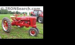 $2,900 1946 International H Tractor