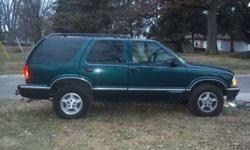 $2,900 1996 Chevy Blazer 4x4 4door- 110,000miles-green