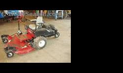 $2,900 2001 Bush Hog ZT18 Mower/Zero Turn