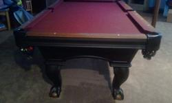 $2,900 OBO Ohausen Pool Table