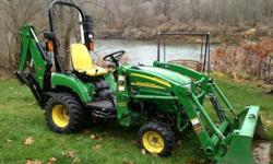 $2,950 OBO 2008 John Deere 2305 4WD Compact Utility Tractor
