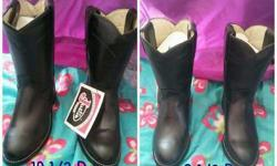 2 pair of kid Justin Boots
