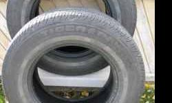 2 Uniroyal P215/70R15 Tiger Paw Tires. $50 (Murray)