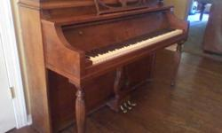 $300 Beautiful Ornate Ivers and Pond Upright Piano (Jenks