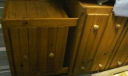$300 Captain's Bed, Chest and Nightstand
