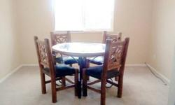 $300 Dining Room Table & Chairs -