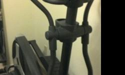 $300 Elliptical - Golds Gym Stride Trainer 595