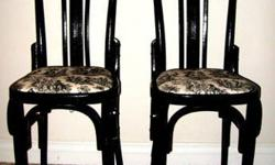 $300 French Bistro Wood Chairs / From Saks Fifth Avenue