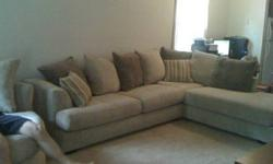 $300 LARGE sectional sofa