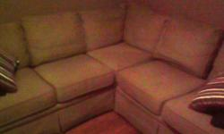 $300 Light Brown Sectional Sofa for Sale
