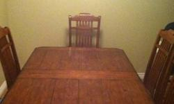$300 Nice dining table
