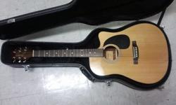 $300 OBO 6-String Electric-Acoustic Takamine Es33c with Hard
