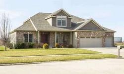 301 East Country Ridge Drive Mahomet Five BR, This home