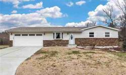 303 Villawood Dr Collinsville Three BR, charming ranch home