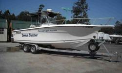 $30,000 Used 2001 ANGLER CENTER CONSOLE 255 for sale.