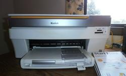 $30 Kodak 5300 All-in-one Printer w/Free Ink & Printhead