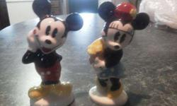 $30 Mickey & Minnie Salt/Pepper Shakers