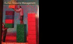 $30 OBO Human Resource Managment fourth edition