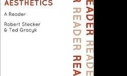 $30 PHIL/ART 320 Aesthetics Today by Stecker, Gracyk (MSUM)