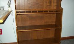 $30 Solid maple bookcase