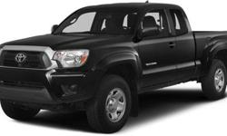 $31,005 2014 Toyota Tacoma 4WD Access Cab V6 AT