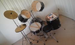 $320 Concerts Drum Kit with a lesson booklet and CD
