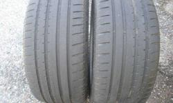 $325 2 Tires - Continental ContiSportContact 255x35x19 BMW M
