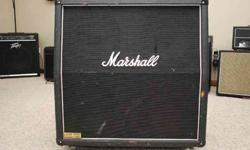 $325 Marshall 1960A 4x12 Cabinet (Choctaw)