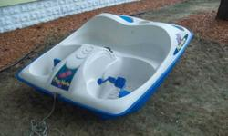 $325 Paddle boat (Holland)