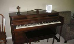 $325 SPINET PIANO-Works Great!!!