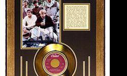 $330 Beach Boys Giclee with Gold Record