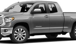$34,135 2014 Toyota Tundra Double Cab 4.6L V8 6-Spd AT SR5