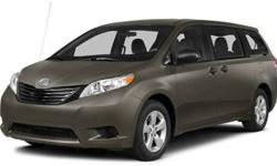 $34,448 2014 Toyota Sienna 5dr 7-Pass Van V6 LE AWD