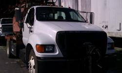 $34,750 2004 Ford F-650 with Bucyrus Erie model 22W drilling