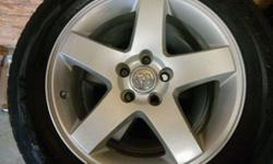 "$350 17"" Dodge Charger OEM WHEELS RIMS and TIRES _______"