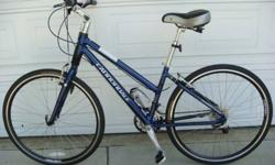 $350 2007 Cannondale Adventure 1000 Feminine Women's Bicycle