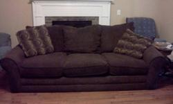 $350 Couch, Loveseat, and Recliner