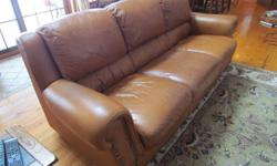 $350 leather couch